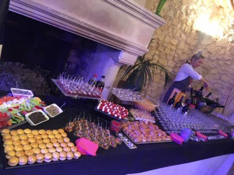 Traiteur evenementiel pour cocktail dinatoire Monaco
