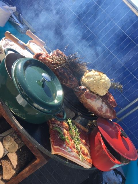 Traiteur pour animation culinaire en extérieur Côte d'Azur